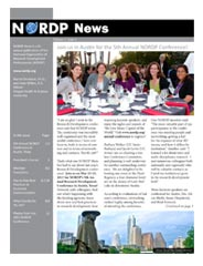 NORDP News Volume 3 Issue 1